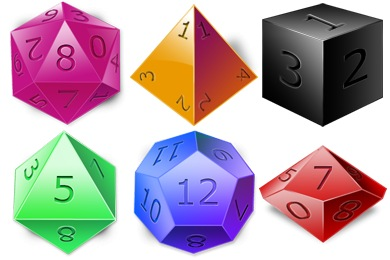 DnD Dice Icons