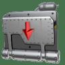 Folder-Drop-Box icon