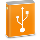 External HD USB icon