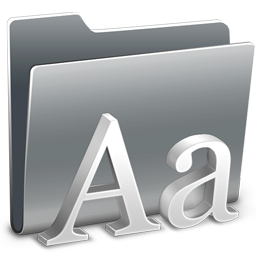 3D Fonts icon