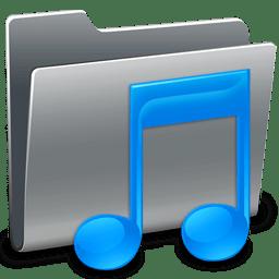 D Music icon