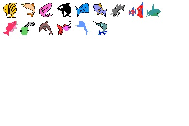Gone Fishin Icons