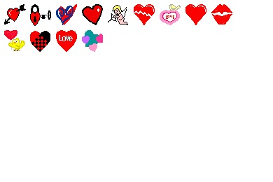 Hearts A Flutter Icons
