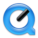 black quicktime icon