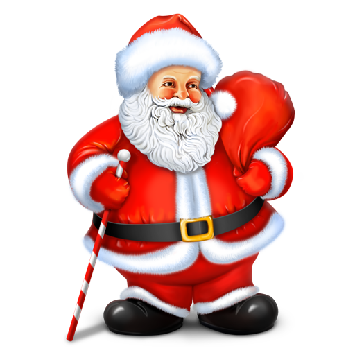 Town And Country Auction >> Santa Icon | Christmas Iconset | IconDrawer