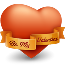 Heart valentine icon