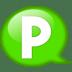 Speech-balloon-green-p icon