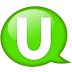 Speech-balloon-green-u icon
