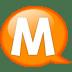 Speech-balloon-orange-m icon