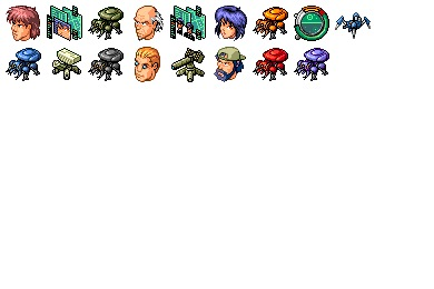 Ghost in the Shell Icons