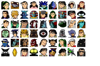 Giant Robo Icons