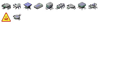 Nanotech Assemblers Icons