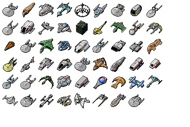 Star Trek Ships Icons
