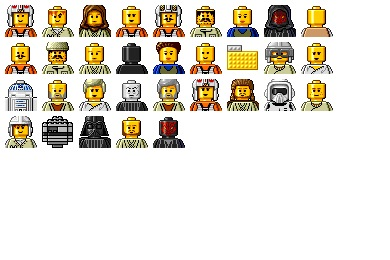Star Wars Lego Icons