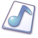 Wave file icon