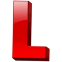 Letter l icon
