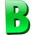 Letter-b icon