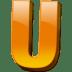 Letter-u icon