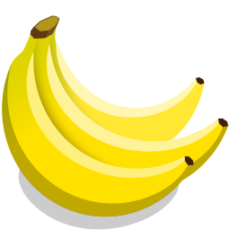 Bananas Icon Veggies Iconset Icon Icon
