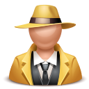 Gangster-man icon