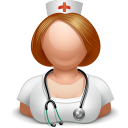 nurse girl icon