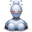 robot female icon