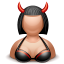 devil female icon
