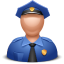 Officer-man icon
