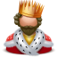 Royal-king icon
