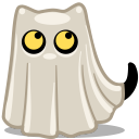 cat ghost icon