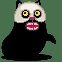 Cat skull icon