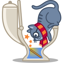 Cat wizard icon