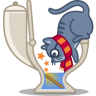 Cat-wizard icon