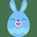 Blue-kiss icon