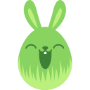 green happy icon