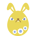 yellow crabby icon