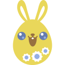 Yellow cute icon