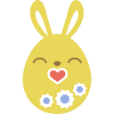 yellow kiss icon