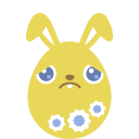 yellow sad icon