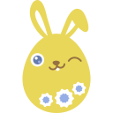 yellow wink icon