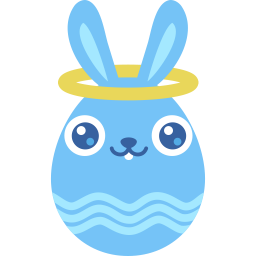 Blue angel icon