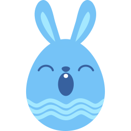 blue sleepy icon