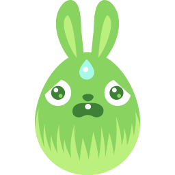 green scared icon