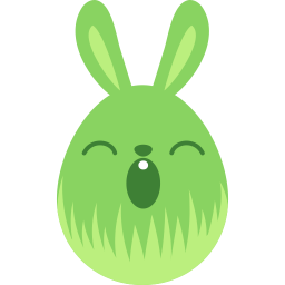 green sleepy icon