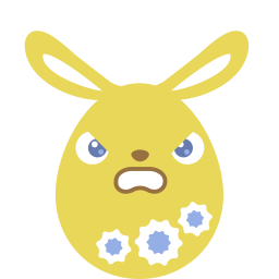 yellow angry icon