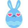 Blue-love icon