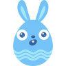 Blue-surprised icon