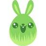 Green-cute icon