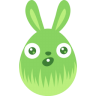 Green-surprised icon