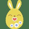 Yellow-kiss icon